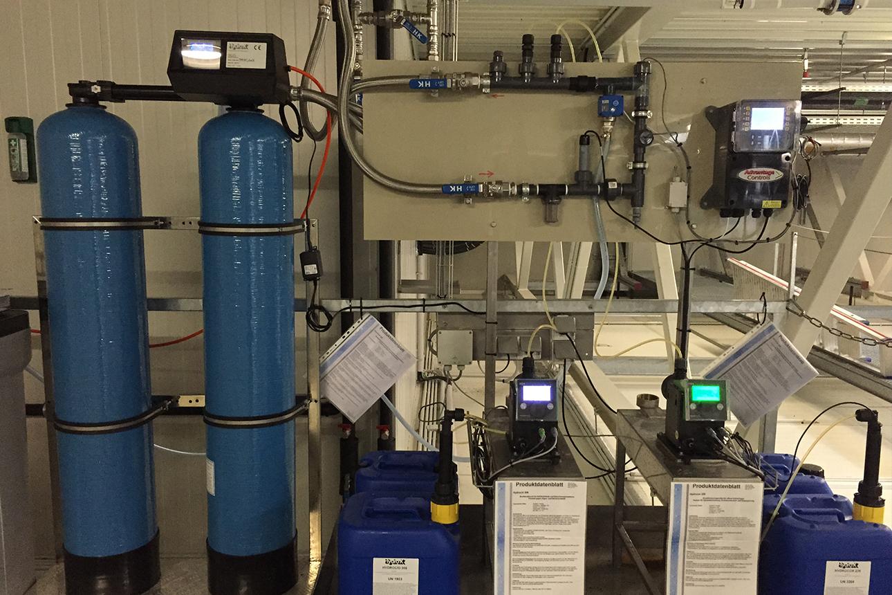 Kühlwasser Komplette Anlage
